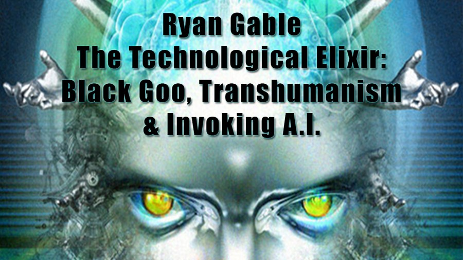 The Technological Elixir: Black Goo Transhumanism and Invoking AI