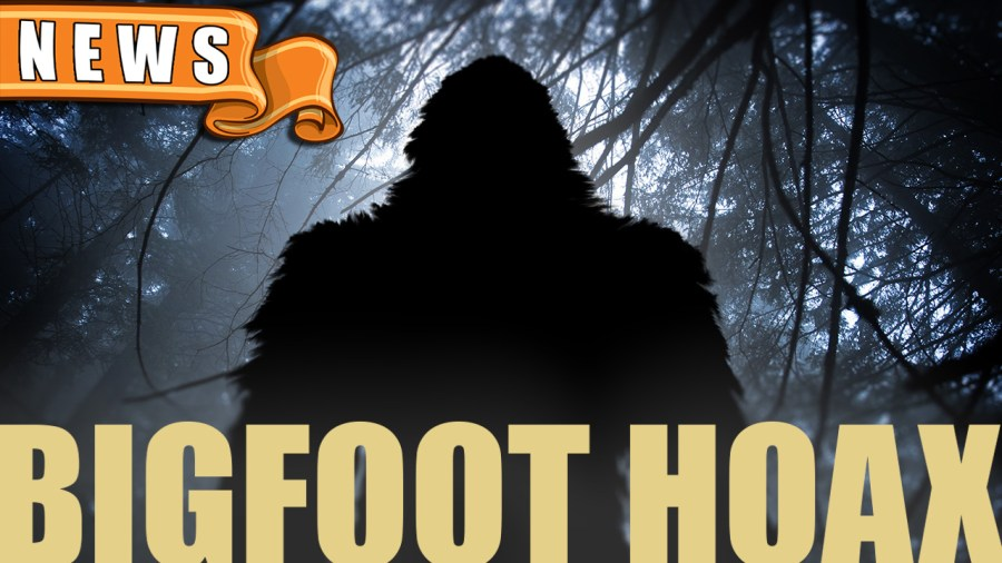 Bigfoot Sighting Proven to be a Hoax