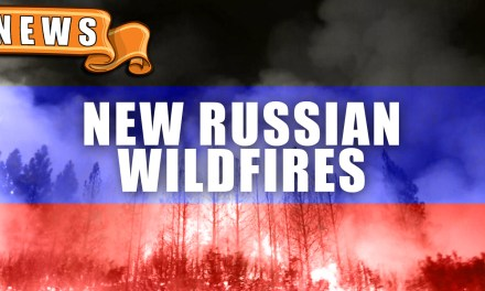 Russian Wildfire the Size of Delaware