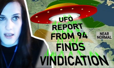 Radar UFO Sighting by Meteorologist Vindication