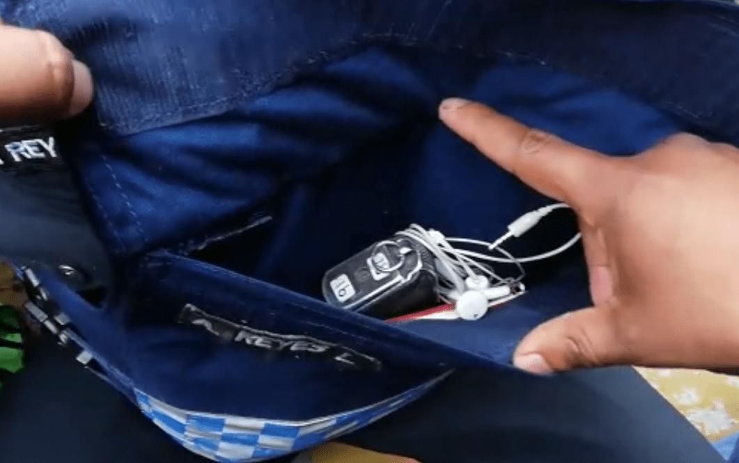 VIDEO: DETECTAN A TRES POLICÍAS CON ARMAS DE FUEGO DURANTE LA MANIFESTACIÓN DE FEDERALES