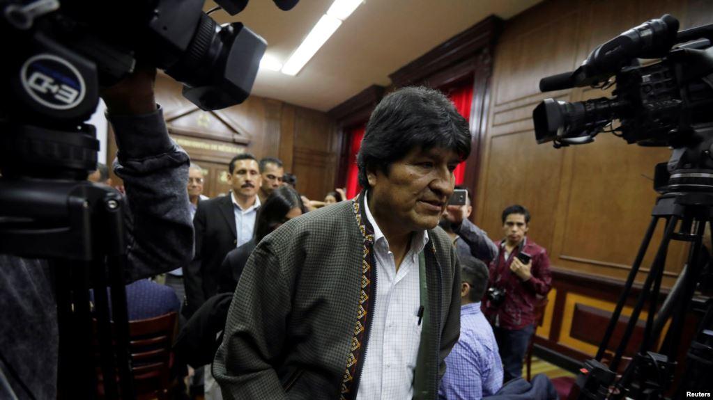 EVO MORALES HABRÍA DEJADO ESTE VIERNES MÉXICO, SE DIRIGE A CUBA