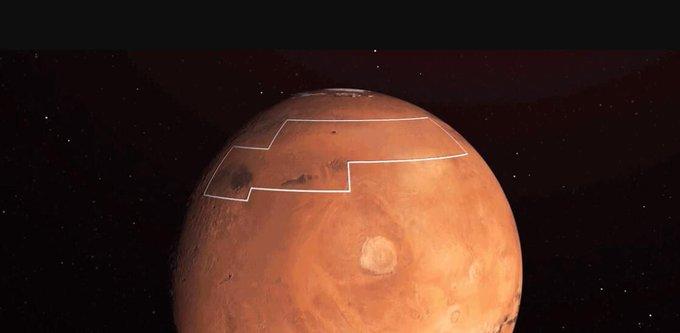 CONFIRMA LA NASA QUE HAY HIELO EN LA SUPERFICIE DE MARTE