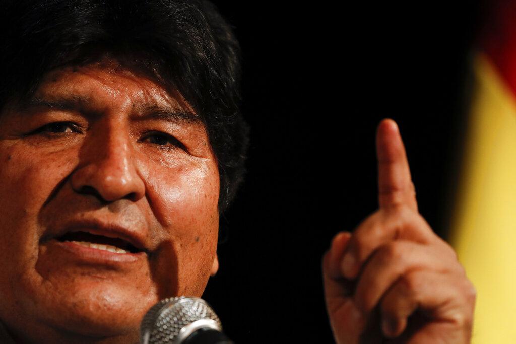 MORALES BRINDA POR RECUPERAR LA DEMOCRACIA EN BOLIVIA ESTE 2020