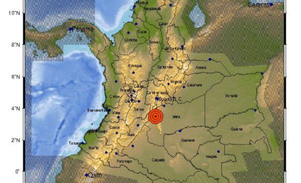 SISMO DE 6.2 SACUDE A COLOMBIA