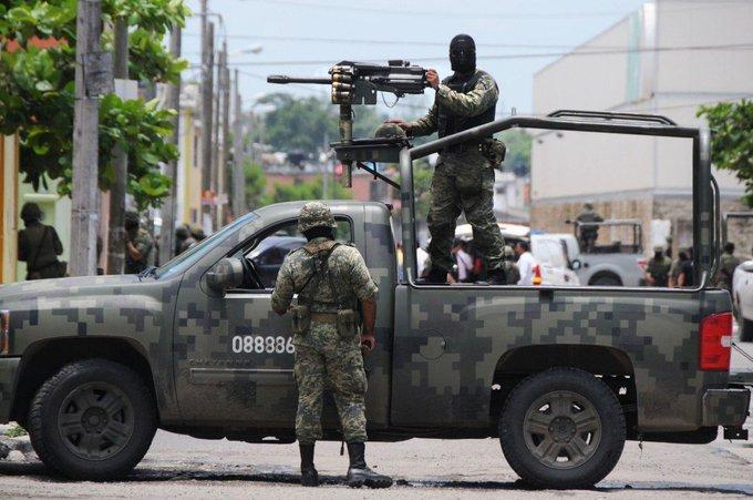 ENFRENTAMIENTO ENTRE MILITARES Y CIVILES EN TAMAULIPAS DEJA AL MENOS 11 SIN VIDA