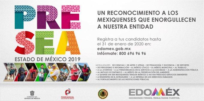 "REPRESENTA PRESEA ESTADO DE MÉXICO AL IMPULSO ECONÓMICO ""FILIBERTO GÓMEZ"" EL ORGULLO DE SER MEXIQUENSE"