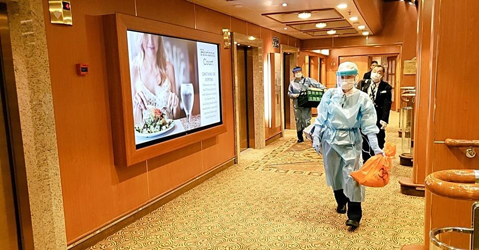 CRUCERO ANCLADO EN JAPÓN REPORTA 10 CASOS DE CORONAVIRUS