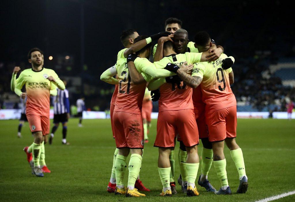 MANCHESTER CITY AVANZA A LOS CUARTOS DE FINAL DE LA FA CUP