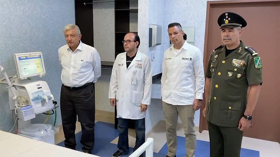 VIDEO: AMLO ENTREGARÁ CONTROL DE 10 HOSPITALES AL EJÉRCITO