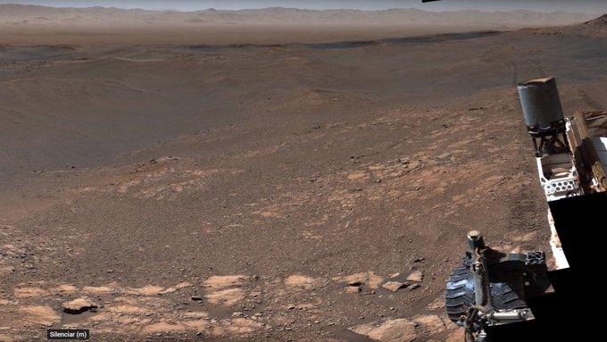 NASA REVELA IMPRESIONANTE PANORÁMICA DE MARTE
