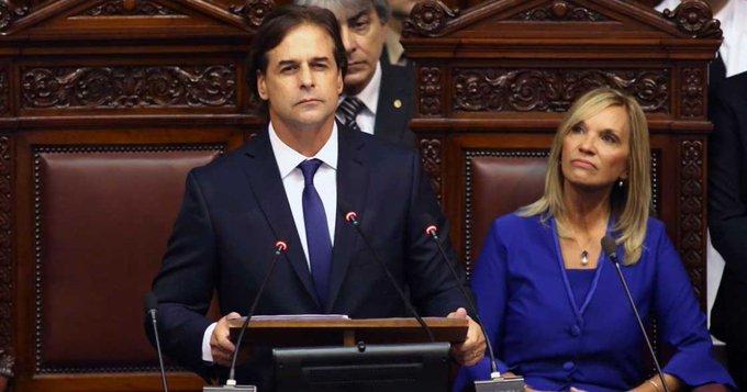 LUIS LACALLE ASUME LA PRESIDENCIA DE URUGUAY