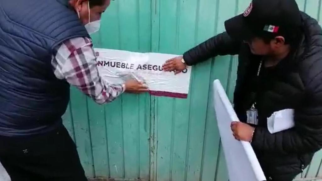 CATEA FGJEM INMUEBLE EN SAN JOSÉ DEL RINCÓN DONDE RECUPERA MERCANCÍA ROBADA
