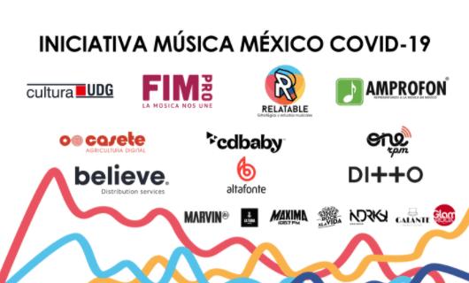 INICIATIVA MÚSICA MÉXICO COVID-19