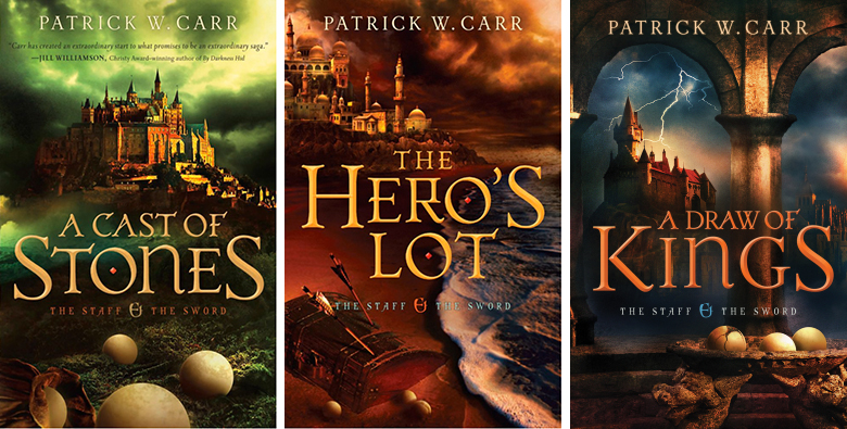 Image result for the staff and the sword series patrick carr