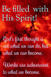 Creative writing in the Holy Spirit
