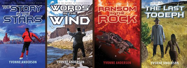 Reality Calling Bookstore Yvonne Anderson Gateway to Gannah series