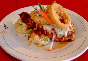 Pub style lobster tail-