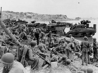 battle of guam third division