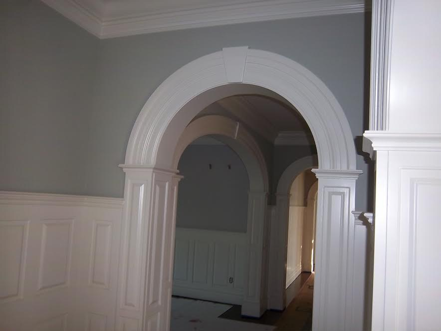 Curved Molding Amp Arched Molding Curved Crown Molding