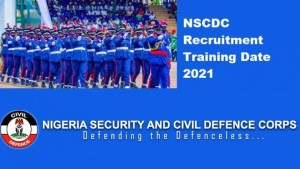 NSCDS Recruitment And Training Date