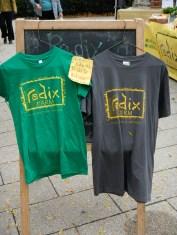 New this year, Radix Farm T-shirts