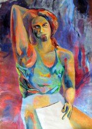 Marek, Oil on canvas