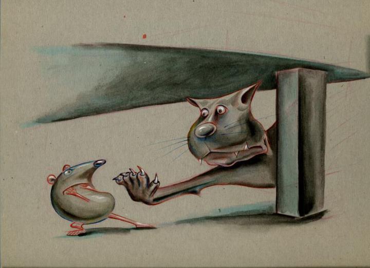 Ratte_Katze