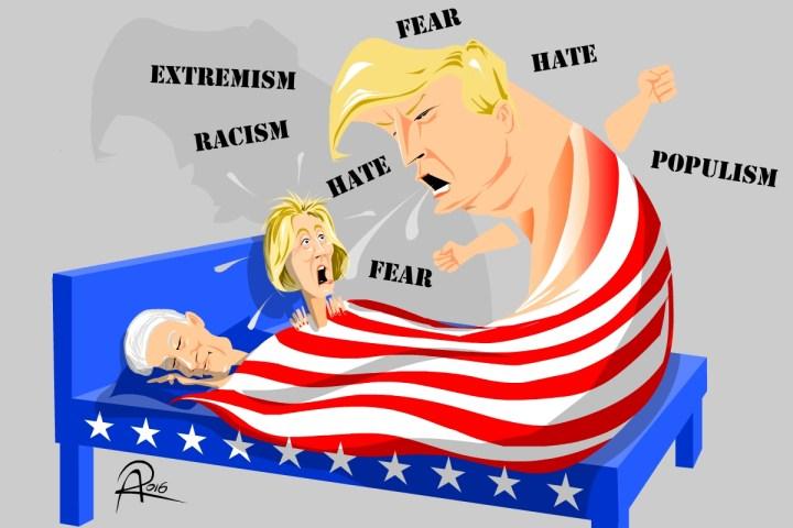 Der amerikanische Alp-Traum im Wahljahr 2016