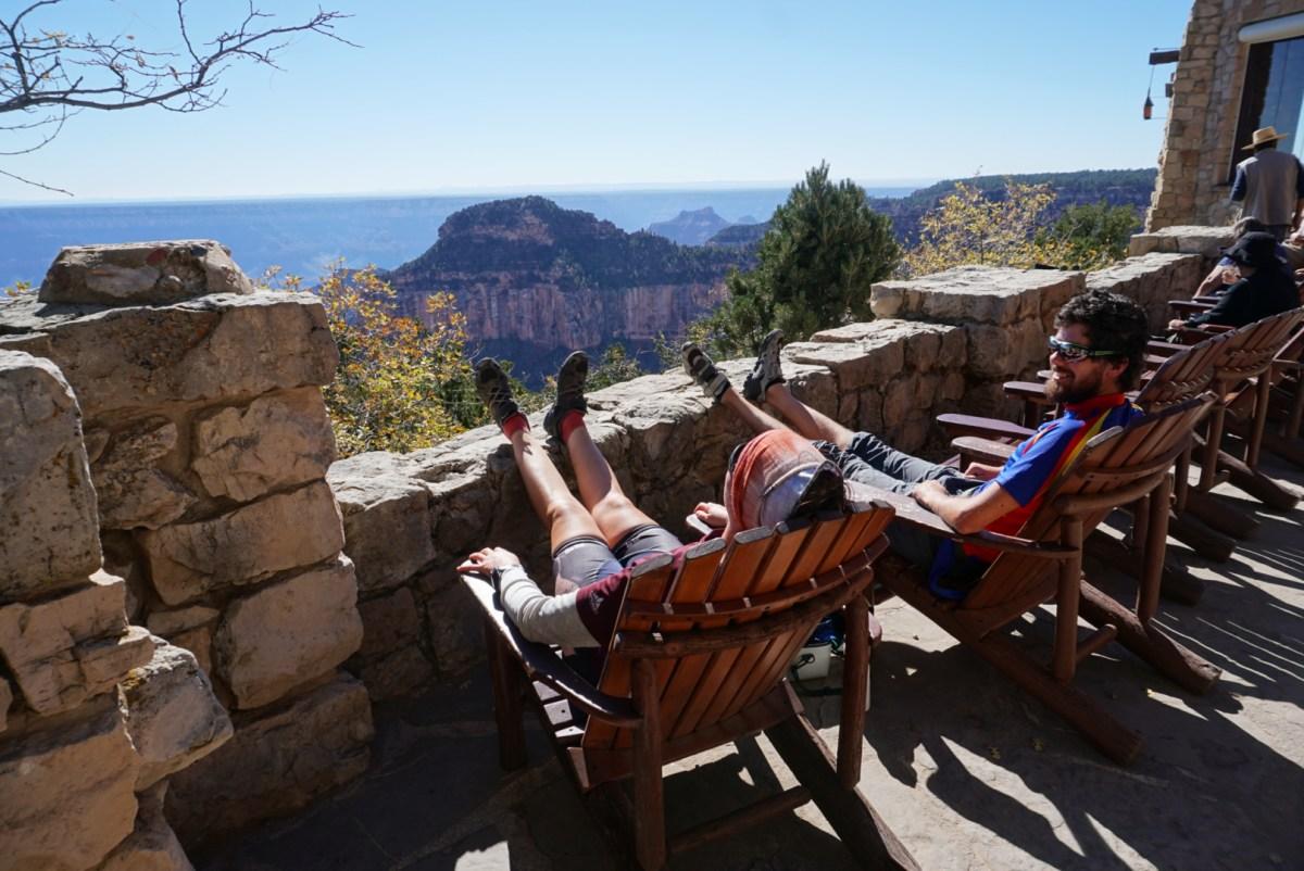 Ein 320km langer und windiger Abstecher zum Grand Canyon