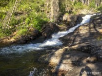 Mill Creek Falls and swimming hole
