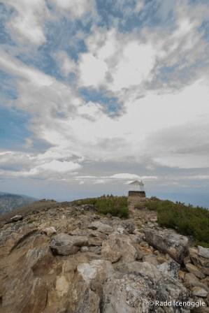 Saint Mary Peak lookout
