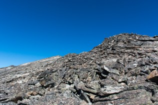 One of the rock pillars - NOT the SUMMIT