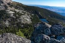 Baker Lake below Baker Ridge