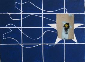 90x70cm, acrylic, filz, canvas on needlepoint frame
