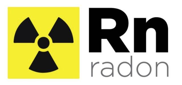 RN-radon gas symbol