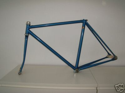 cinelli track 50 cm frame and fork columbus