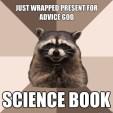 RACCOONS IN THE NEWS: Raccoon Reading Rainbow