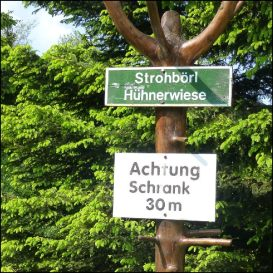 Achtung Schrank