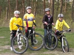 Mountainbike-Training am Königsberg