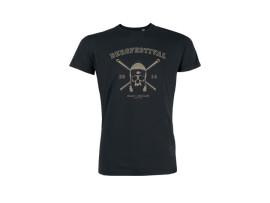 "Bergfestival T-Shirt 2014 ""Skull"" Man"