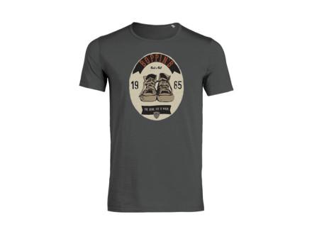 "Boppin'B T-Shirt ""Ellipse Anthracite"" Man"