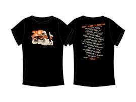 "Taubertal Festival T-Shirt 2015 ""Classic Black"" Man"