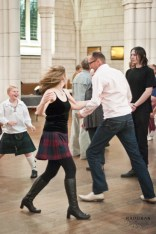 ceilidh is all about dancing