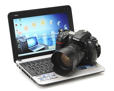 MSI U 115 - comparat cu Nikon D300