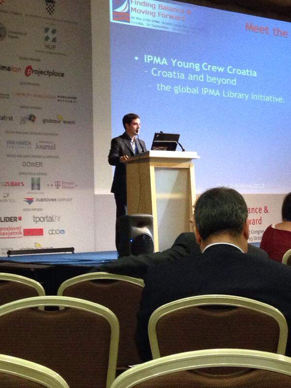 Presenting at IPMA World Congress 2013