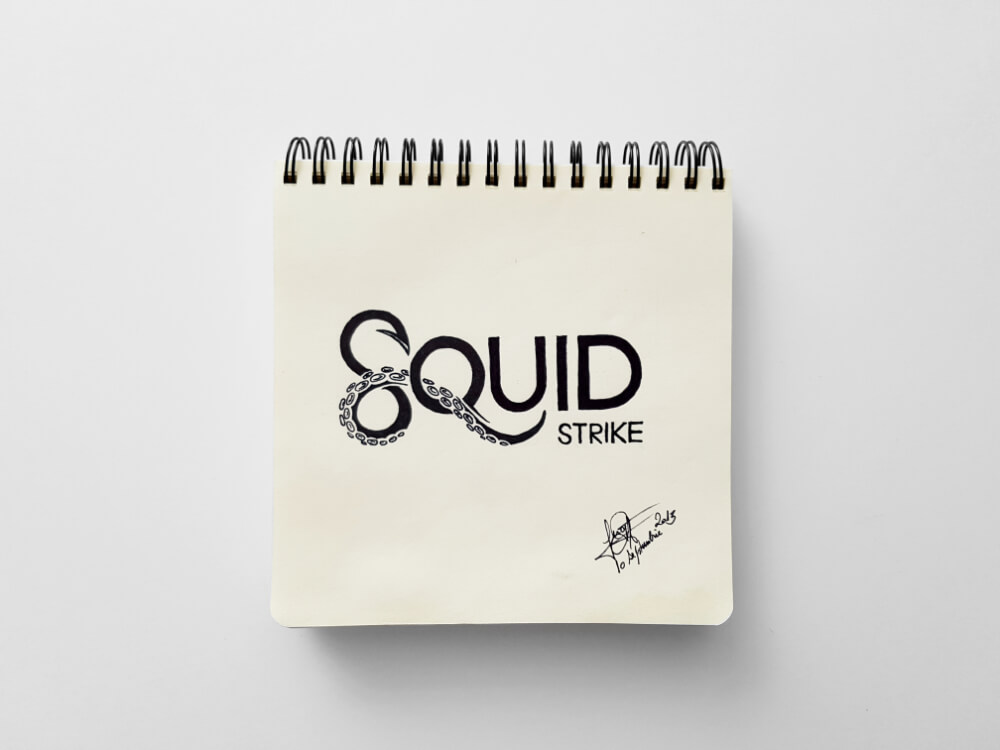 Squid strike