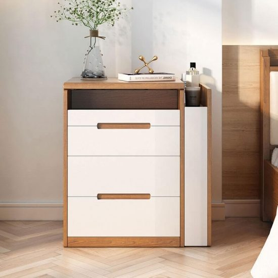 makeup vanity set drawers and nightstand with stool