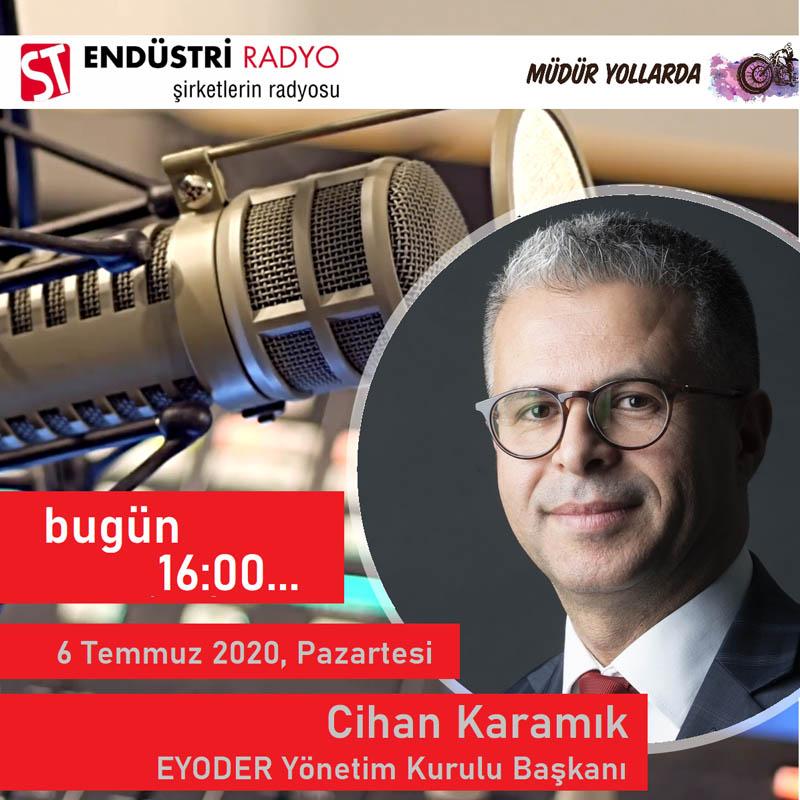 EYODER Enerji Verimliliği Ve Yönetimi Derneği Başkanı Cihan Karamık: Enerji Verimliliği Ve Yönetimi