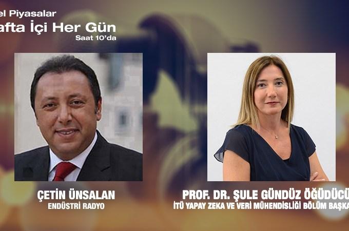 İTÜ Yapay Zeka Ve Veri Mühendisliği Bölüm Başkanı Prof. Dr. Şule Gündüz Öğüdücü: Türkiye'nin Ilk Yapay Zeka Ve Veri Mühendisliği Bölümü